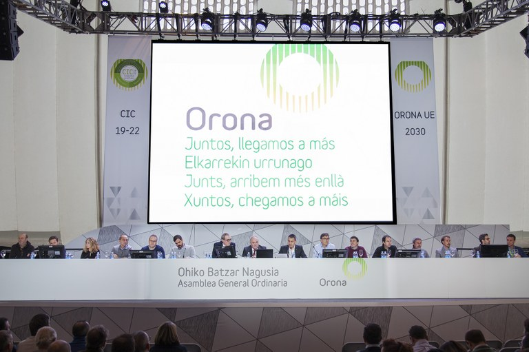 Phase one of the Orona EU project approved at general meeting